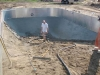 Concrete contractors finishing pool-2