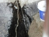 Concrete contractors repair-water-leak-in-retaining-wall-1