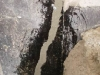 Concrete contractors repair-water-leak-in-retaining-wall-2